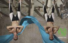 Антигравити: как тренироваться в гамаке и чем полезны перевёрнутые позы