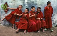 Тибетский взгляд на воспитание детей: