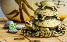 Тройная черепаха, приносящая счастье и деньги.