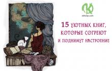 15 уютных книг, которые согреют и поднимут настроение