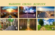 Тест: выбери свою дорогу жизни